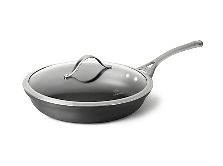 "Calphalon Contemporary Nonstick 12"" Omelette Pan with Cover"