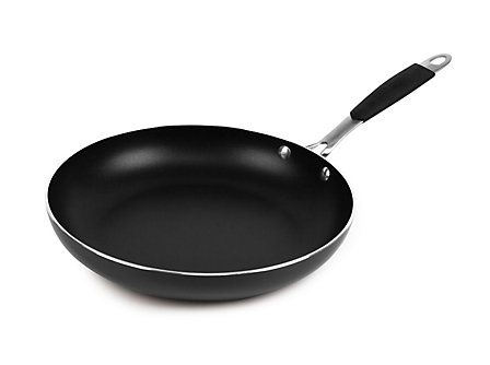 "Cooking with Calphalon Enamel 10"" Omelette - Black"