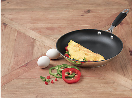 "Cooking with Calphalon Stainless 10"" Omelette Pan"