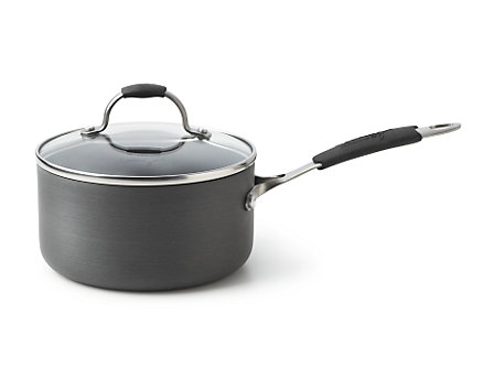 Cooking with Calphalon Hard Anodized 2 Qt. Sauce with Cover