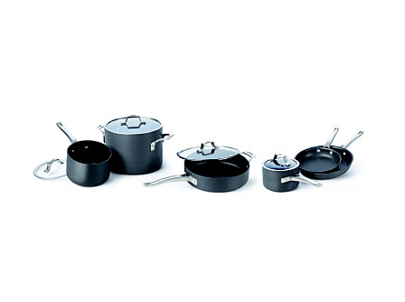 Cooking with Calphalon Refined Hard Anodized 10 Piece Set