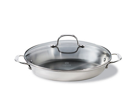 "Calphalon Tri-Ply Stainless Steel 12"" Everyday Pan"