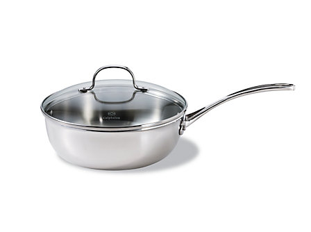Calphalon Tri-Ply Stainless Steel 3 Qt. Chef's Pan