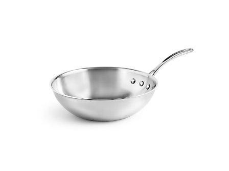 "Calphalon Tri-Ply Stainless Steel 10"" Stir Fry"