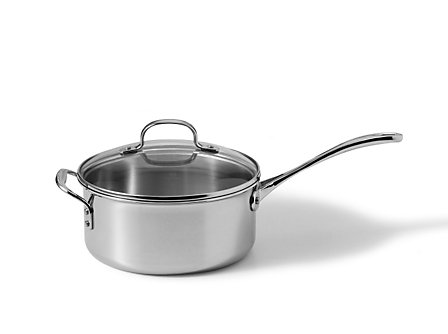 Calphalon Tri-Ply Stainless Steel 4.5 Qt. Sauce Pan