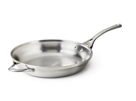 "Calphalon Contemporary Stainless 14"" Fry Pan"