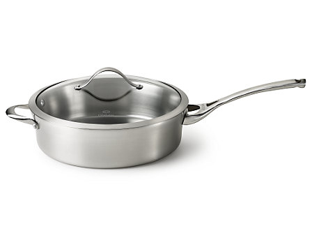 Calphalon Contemporary Stainless 5-qt. Saute Pan