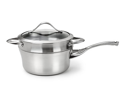Calphalon Contemporary Stainless 2.5-qt. Sauce Pan with Double Boiler
