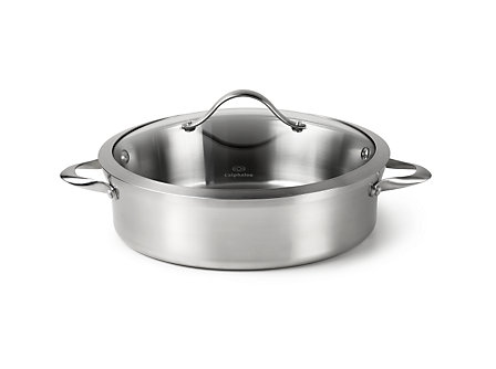 Calphalon Contemporary Stainless 5-qt. Sauteuse Pan