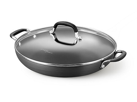 "Calphalon Simply Calphalon Nonstick 12"" Everyday Pan"