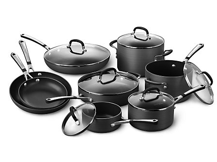 Simply Calphalon Nonstick 14-pc. Cookware Set