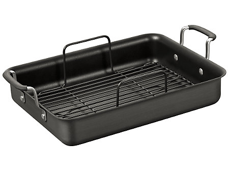 Simply Calphalon Nonstick 12x16-in. Roaster with Rack