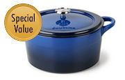 Simply Calphalon Enamel Cast Iron
