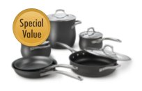 Calphalon+Unison+Nonstick+10-pc.+Cookware+Set
