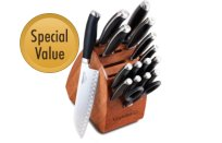 Calphalon+Contemporary+Cutlery+17-pc.+Knife+Block+Set
