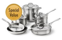 Calphalon+AccuCore+10-pc.+Cookware+Set
