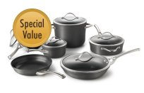 Calphalon+Contemporary+Nonstick+11-pc.+Cookware+Set