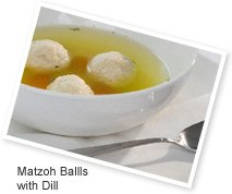 Matzoh Balls with Dill