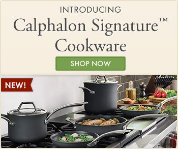 Introducing New Calphalon Signature Cookware