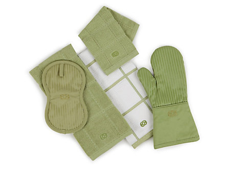 Calphalon 14-in. Thumb Mitt: Green Apple