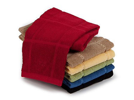 Calphalon 17x30-in. Terry Towel: Tomato Red