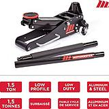 MotoMaster Aluminum and Steel Low-Profile Racing Jack