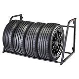 MotoMaster Wall Mount Tire Rack