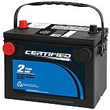 Certified Automotive Battery