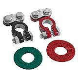 Top Post Battery Terminals, Coated