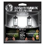 GE Nighthawk Platinum Halogen Headlight Bulb, 2-pk.