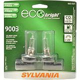 Sylvania Ecobright Halogen Headlight Bulb, 2-pk.