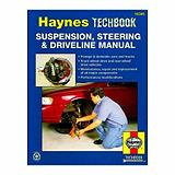 Haynes Techbook, suspension, direction et ...