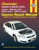 haynes repair manual chevrolet impala 2006 2007 monte carlo 2006 rh canadiantire ca User Manual PDF 2013 Chevy Impala