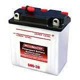 MotoMaster Powersports Battery, 6-Volt