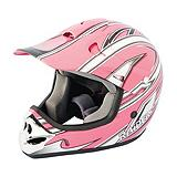 Raider Pink Youth MX-3 Helmet