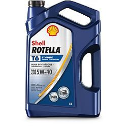 Canadian tire shell shell rotella t6 synthetic diesel for Shell diesel motor oil