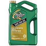 Quaker State Ultimate Durability Synthetic Motor Oil, 5L