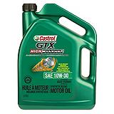 Castrol GTX High Mileage Motor Oil, 5L
