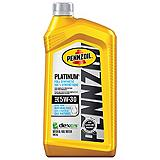 Pennzoil Platinum Synthetic Motor Oil, 946mL