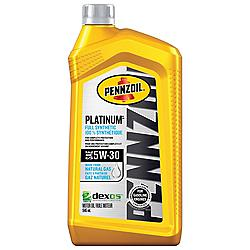 Canadian Tire Pennzoil Platinum Synthetic Motor Oil