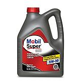 Mobil Super 1000 Conventional Motor Oil, 4...