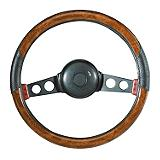 Burlwood Steering Wheel Cover