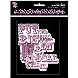 Cling Bling Car Decal