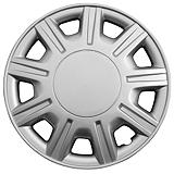 Silver Wheel Cover KT857, 15-in.