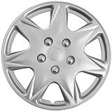 Silver Wheel Cover KT915 , 17-in.