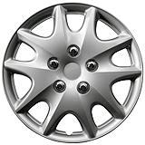 Silver Wheel Cover KT1009