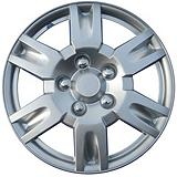 Silver-lacquer Finish Wheel Cover KT999, 16-in.