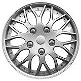 Silver-lacquer Wheel Cover, 15-in.