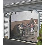 Quick Screen Garage-Door Screen-Enclosure Kit, 8x7ft (2.4x2.1m)