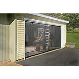 Quick Screen Garage-Door Screen-Enclosure Kit, 16x7-ft (4.9x2.1m)
